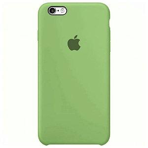 Case Capinha Verde Menta para iPhone 6 e 6s de Silicone - OAHMT6OE4