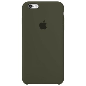 Case Capinha Verde Musgo para iPhone 6 e 6s de Silicone - M92V7N639