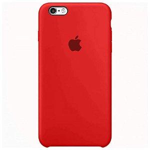 Case Capinha Vermelha para iPhone 6 e 6s de Silicone - 6T5K0ISZ9