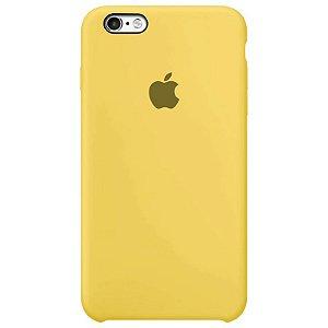 Case Capinha Amarela para iPhone 6 Plus e 6s Plus de Silicone - A5UADRXR3