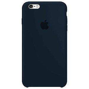 Case Capinha Azul Cobalto para iPhone 6 Plus e 6s Plus de Silicone - PX8KATH5W