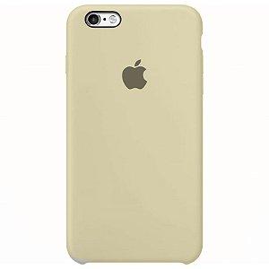 Case Capinha Branco Off-White para iPhone 6 Plus e 6s Plus de Silicone - UY3QXC151