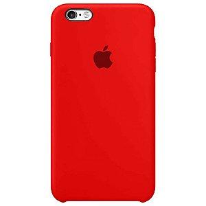Case Capinha Vermelha para iPhone 6 Plus e 6s Plus de Silicone - 95KBIELPP