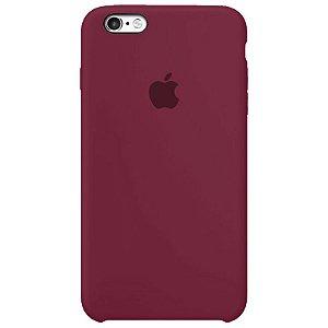 Case Capinha Vinho para iPhone 6 Plus e 6s Plus de Silicone - QTVY1PPDP