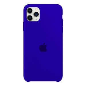Case Capinha Azul Caneta para iPhone 11 Pro de Silicone - G2D4ESQW6