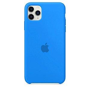 Case Capinha Azul Piscina para iPhone 11 Pro de Silicone - UYRN693HZ