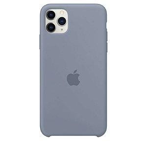 Case Capinha Cinza Azulado para iPhone 11 Pro de Silicone - GAM6A5BW1
