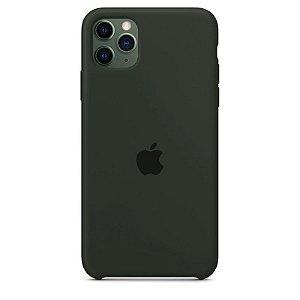 Case Capinha Cinza Escuro para iPhone 11 Pro de Silicone - SHHZ4HTCW
