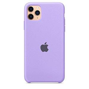 Case Capinha Lavanda para iPhone 11 Pro de Silicone - HWHDYBJV6