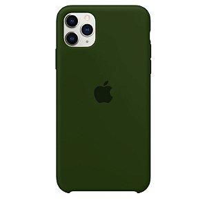Case Capinha Verde Bandeira para iPhone 11 Pro de Silicone - VE3K6G5A4