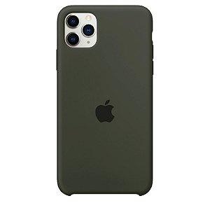 Case Capinha Verde Musgo para iPhone 11 Pro de Silicone - 25XQ7JRJH