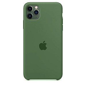 Case Capinha Verde Pacífico para iPhone 11 Pro de Silicone - DA1RK2DFI