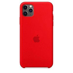 Case Capinha Vermelha para iPhone 11 Pro de Silicone - 59LEMVH4C