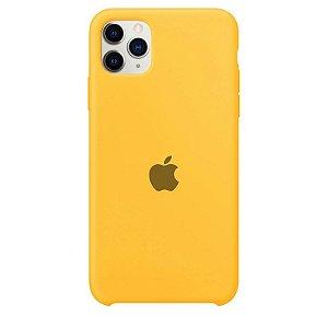 Case Capinha Amarela para iPhone 11 Pro Max de Silicone - H642Y8V55