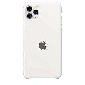 Case Capinha Branca para iPhone 11 Pro Max de Silicone - 4KUXEGAKG