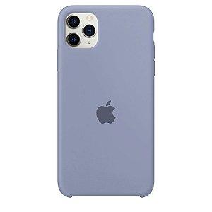 Case Capinha Cinza Lavanda para iPhone 11 Pro Max de Silicone - 7RJI7Q5PP