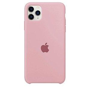 Case Capinha Rosa Chiclete para iPhone 11 Pro Max de Silicone - GRYTCN239
