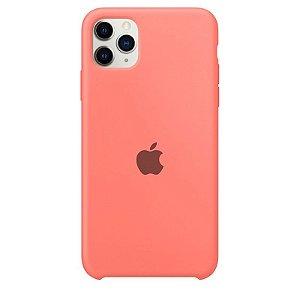 Case Capinha Rosa Flamingo para iPhone 11 Pro Max de Silicone - 1KG8V7A03