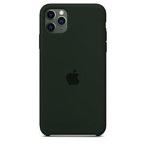 Case Capinha Verde Floresta para iPhone 11 Pro Max de Silicone - Z7U2TRFOJ