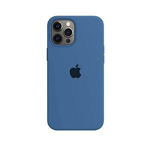 Case Capinha Azul Eclesiástico para iPhone 12 Pro Max de Silicone - 4Q027OS0R