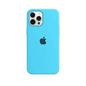 Case Capinha Azul Piscina para iPhone 12 Pro Max de Silicone - 92IJ0XNIQ