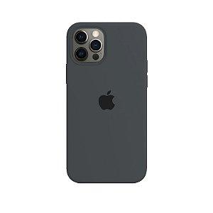 Case Capinha Cinza Escuro para iPhone 12 Pro Max de Silicone - XIZLMJOE7