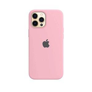 Case Capinha Rosa Chiclete para iPhone 12 Pro Max de Silicone - I5P9TIKDX