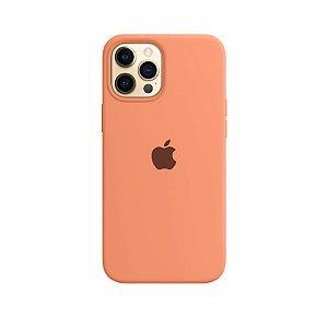 Case Capinha Tangerina para iPhone 12 Pro Max de Silicone - DE9UP79I1