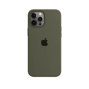 Case Capinha Verde Militar para iPhone 12 Pro Max de Silicone - 035QG2ZYN
