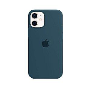 Case Capinha Verde Pacífico para iPhone 12 Mini de Silicone - 1PJT3R21K