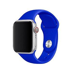 Pulseira Azul Caneta para Apple Watch Serie (1/2/3/4/5/6/SE) de Silicone - 4P0CTAFQH