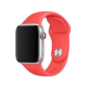 Pulseira Rosa Neon para Apple Watch Serie (1/2/3/4/5/6/SE) de Silicone - IFHV8B92H
