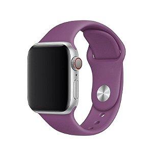 Pulseira Roxa para Apple Watch Serie (1/2/3/4/5/6/SE) de Silicone - 15Y33JLRY