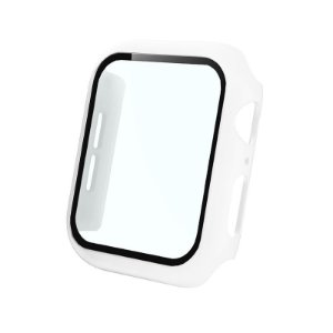 Bumper Case Com Película Branca para Apple Watch Series (1/2/3/4/5/6/SE) de Silicone - 9GOMQ1V7F