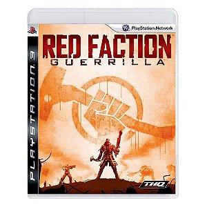 RED FACTION GUERRILLA PS3 USADO