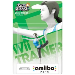 AMIIBO WII FIT TRAINER