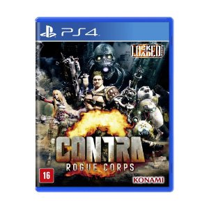 CONTRA: ROGUE CORPS PS4