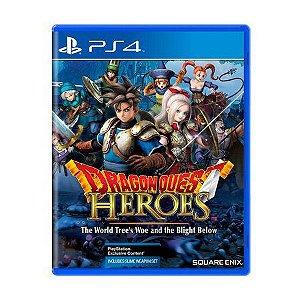 DRAGON QUEST HEROES PS4 USADO