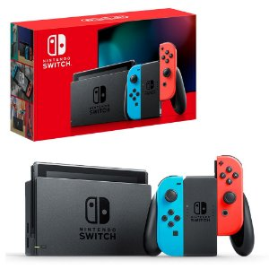 NINTENDO SWITCH NEON (NEW MODEL)