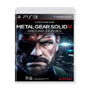 METAL GEAR SOLID V GROUND ZEROES PS3 USADO