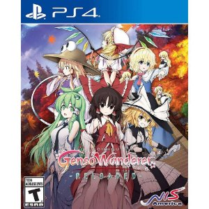 TOUHOU GENSO WANDERER RELOADED PS4