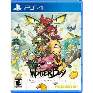WONDER BOY THE DRAGONS TRAP - PS4