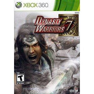DYNASTY WARRIORS 7 XBOX 360 USADO