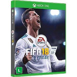 FIFA 18 XBOX ONE USADO