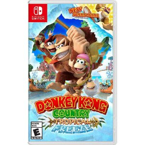 DONKEY KONG COUNTRY TROPICAL FREEZE SWITCH USADO