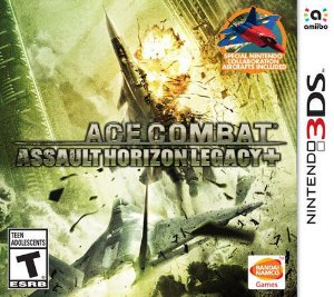 ACE COMBAT ASSAULT HORIZON 3DS USADO