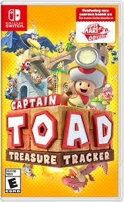 CAPTAIN TOAD SWITCH USADO