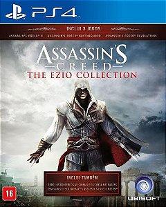 ASSASSINS CREED EZIO COLLECTION PS4 USADO