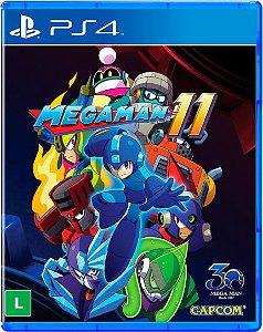 MEGA MAN 11 PS4 BR