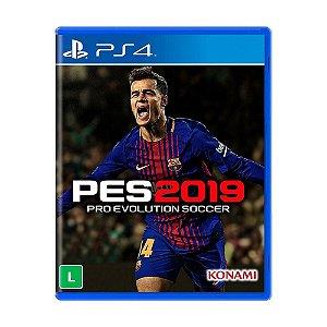 PES 2019 PS4 USADO